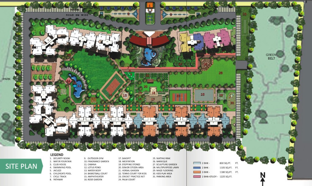 Aranya-Homes-Site-plan
