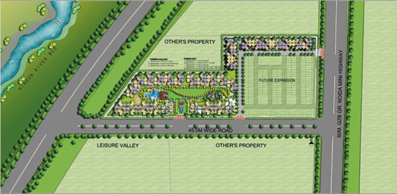 amrapali-leisure-park-site-plan