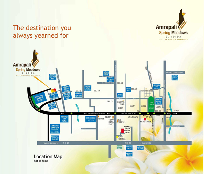 amrapali-spring-location-map