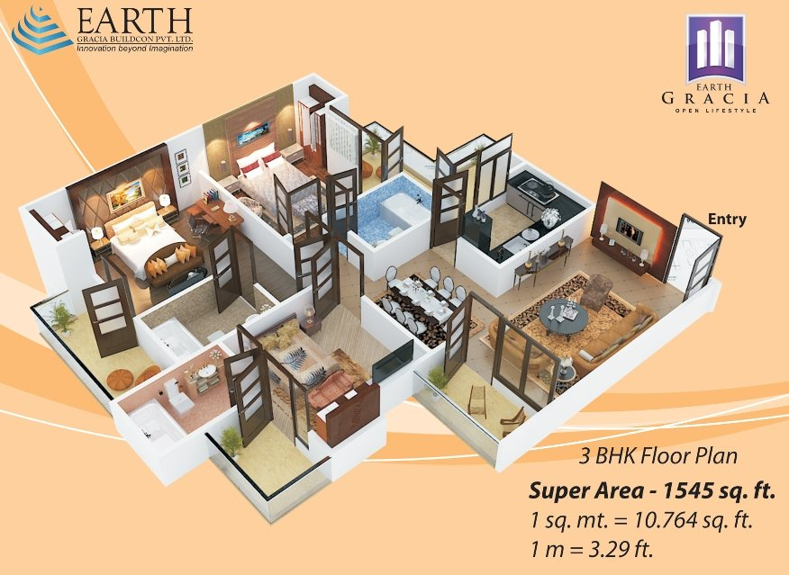 earth-gracia-floor-plan-3bhk1545-sqr-ft