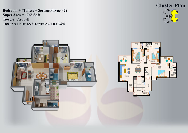 eros sampoornam floor-plan19
