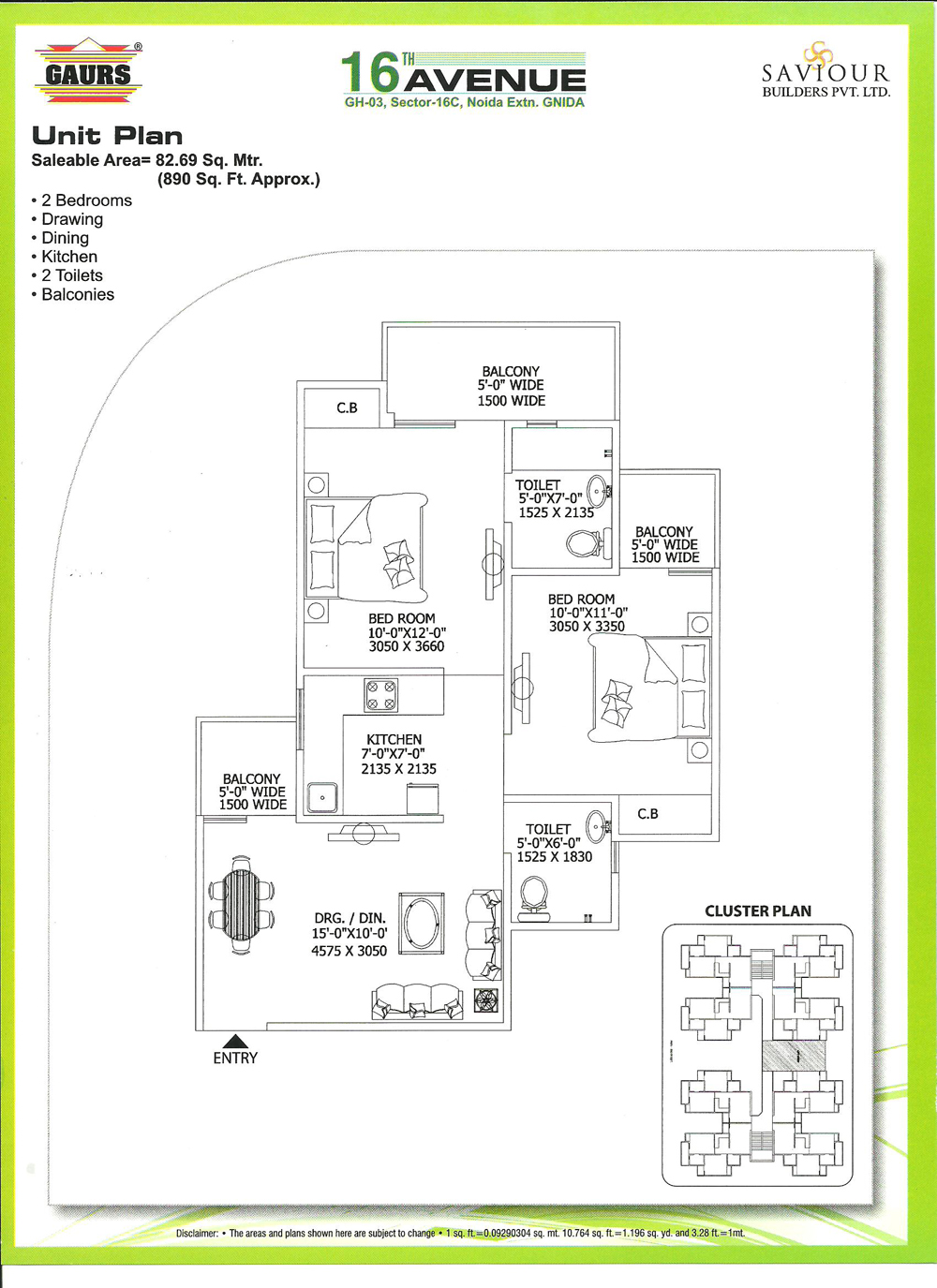 Gaur City2 Noida Extension Description