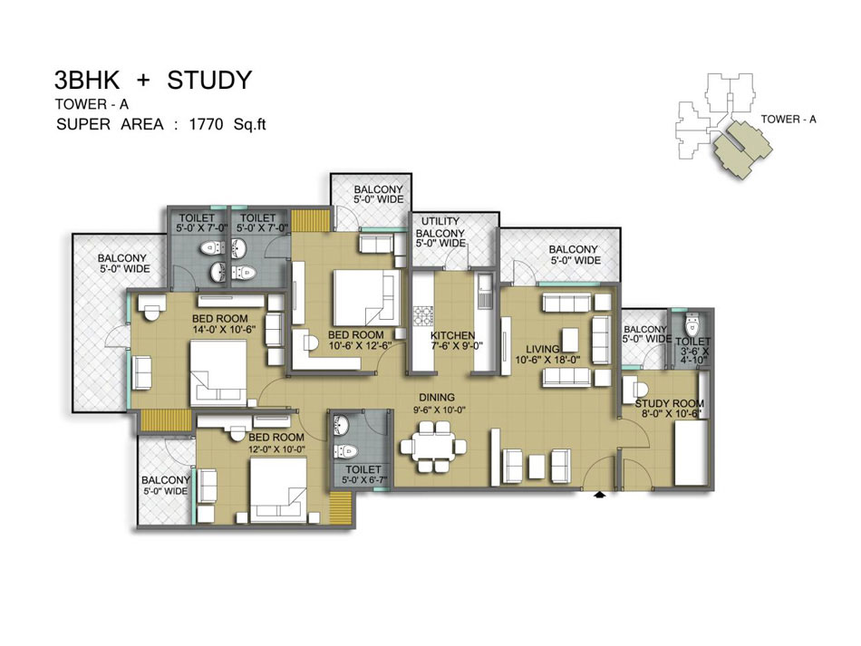 mascot manorath floor plan6
