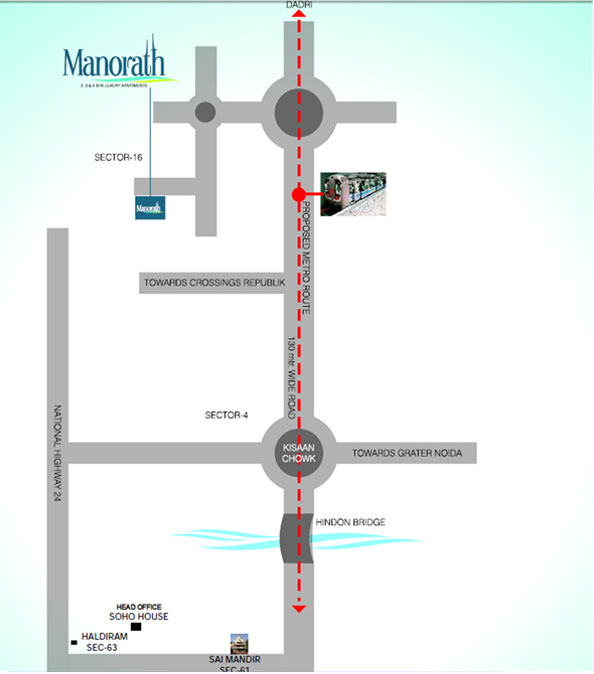 mascot manorath location map