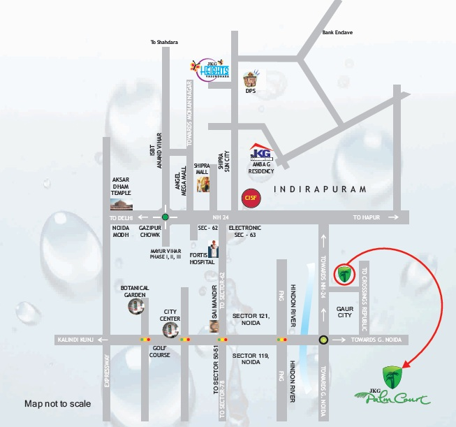 palm court location map
