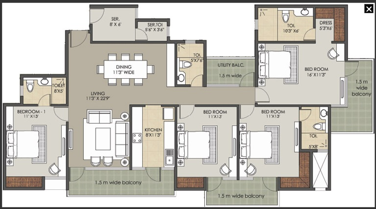 patel new town floor plan11