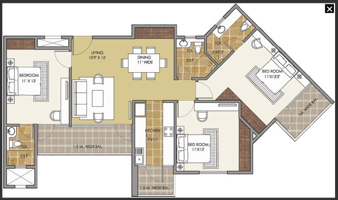 patel new town floor plan4