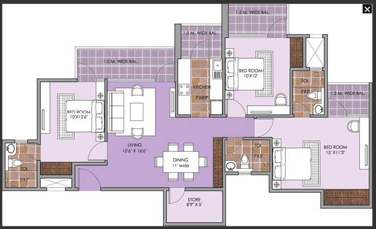patel new town floor plan5