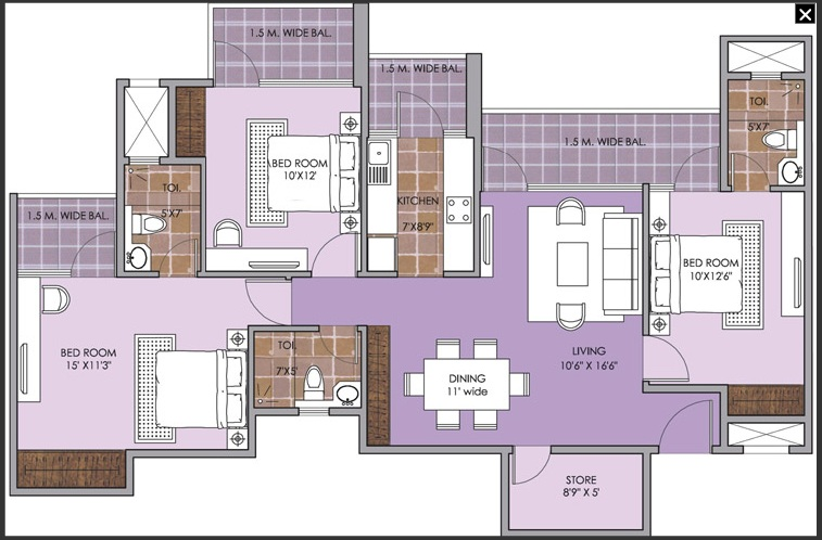 patel new town floor plan6