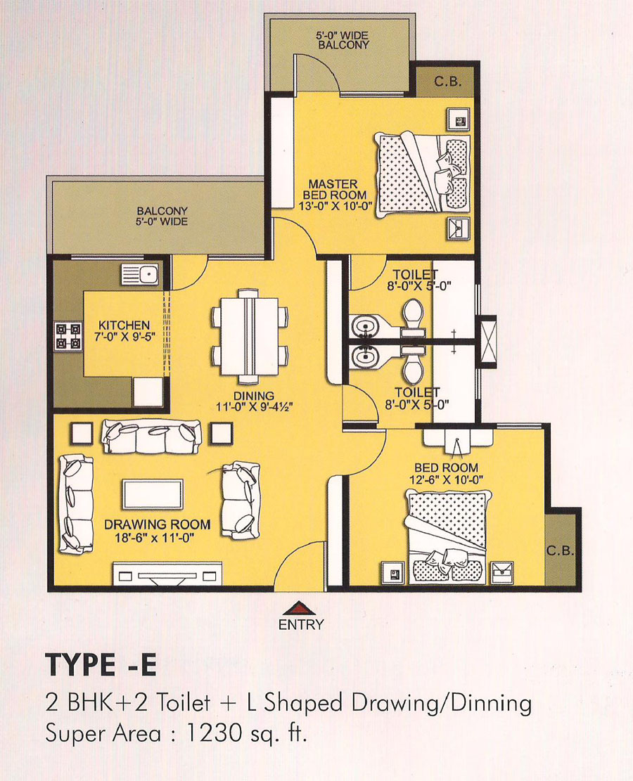 vvip homes floor plan6