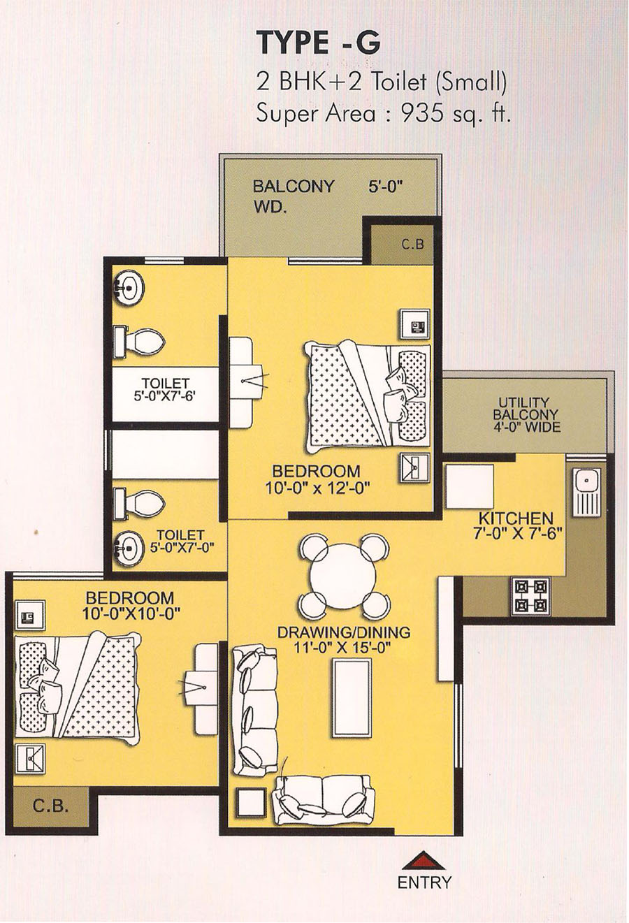 vvip homes floor plan8