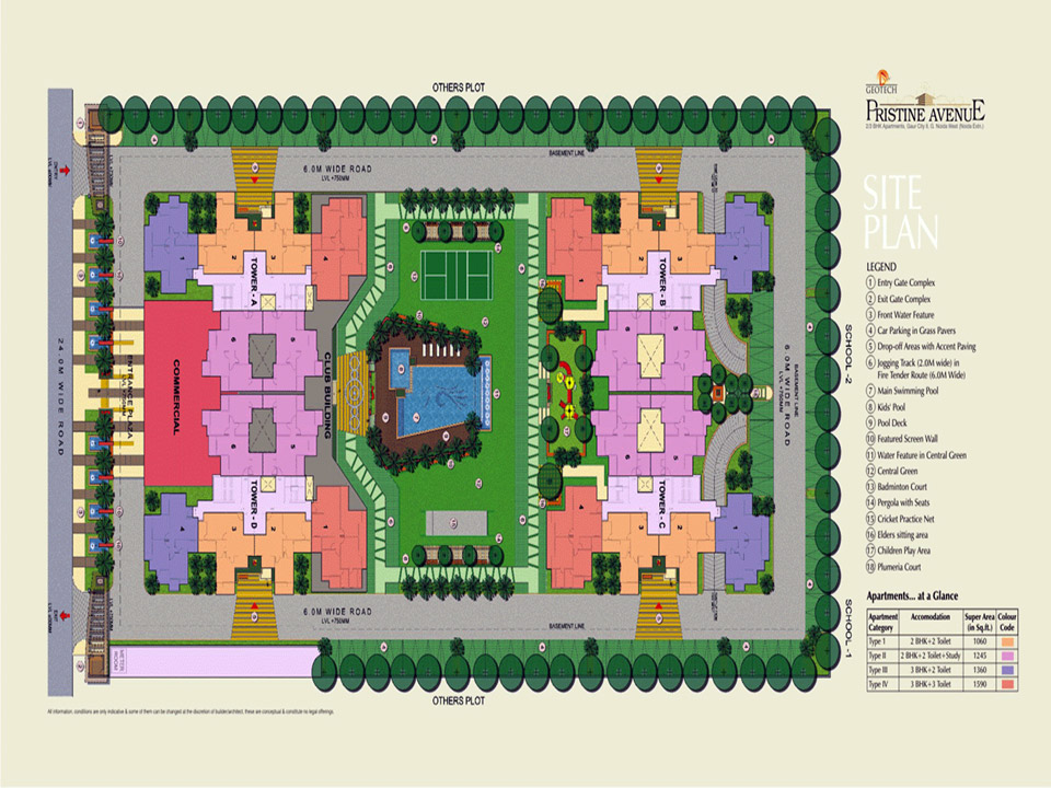 pristine-aavenue-site-plan