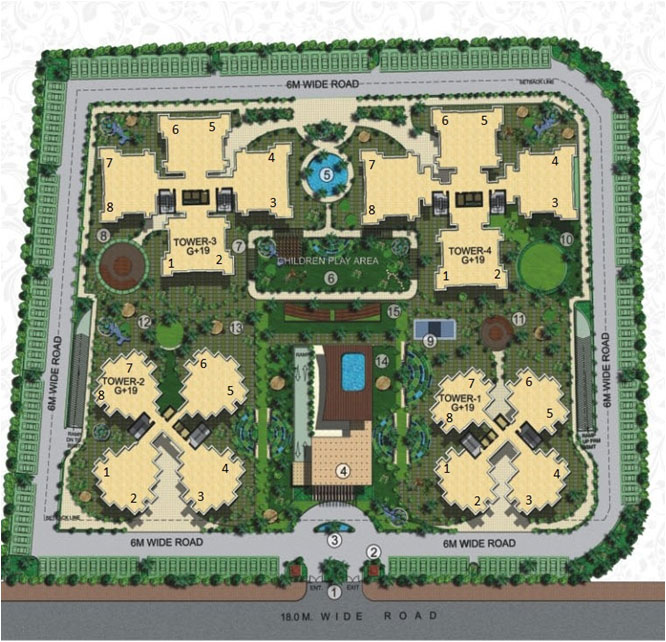 astha green site plan