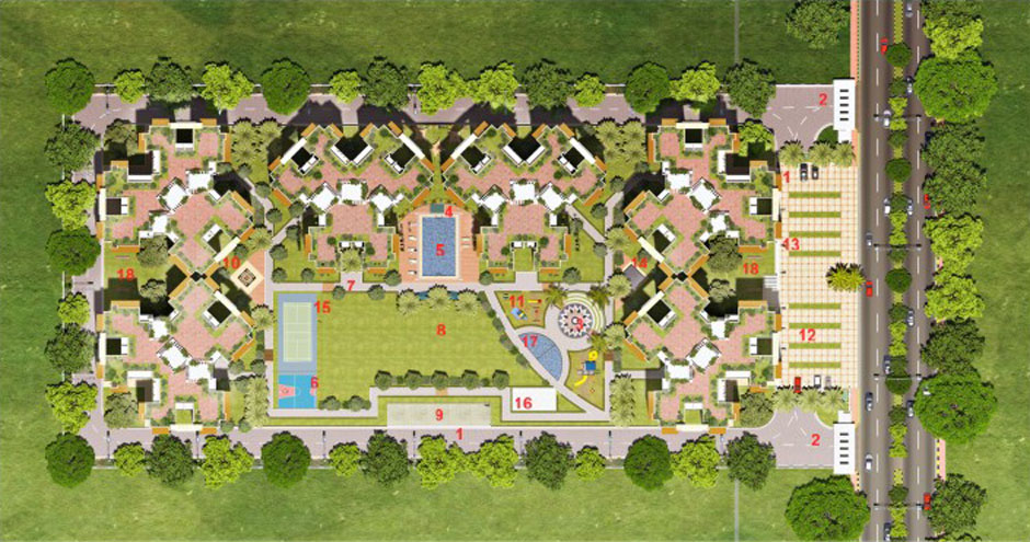 novena green site plan