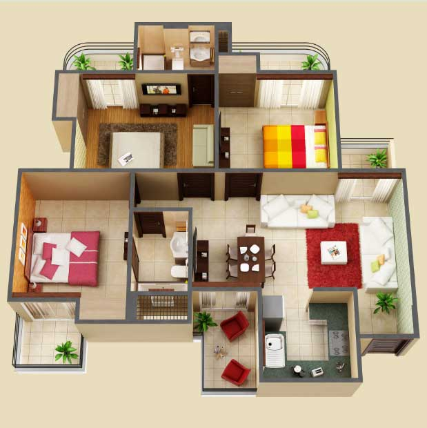 amaatra homes floor plan 3bhk 2toilet 1405 sqft