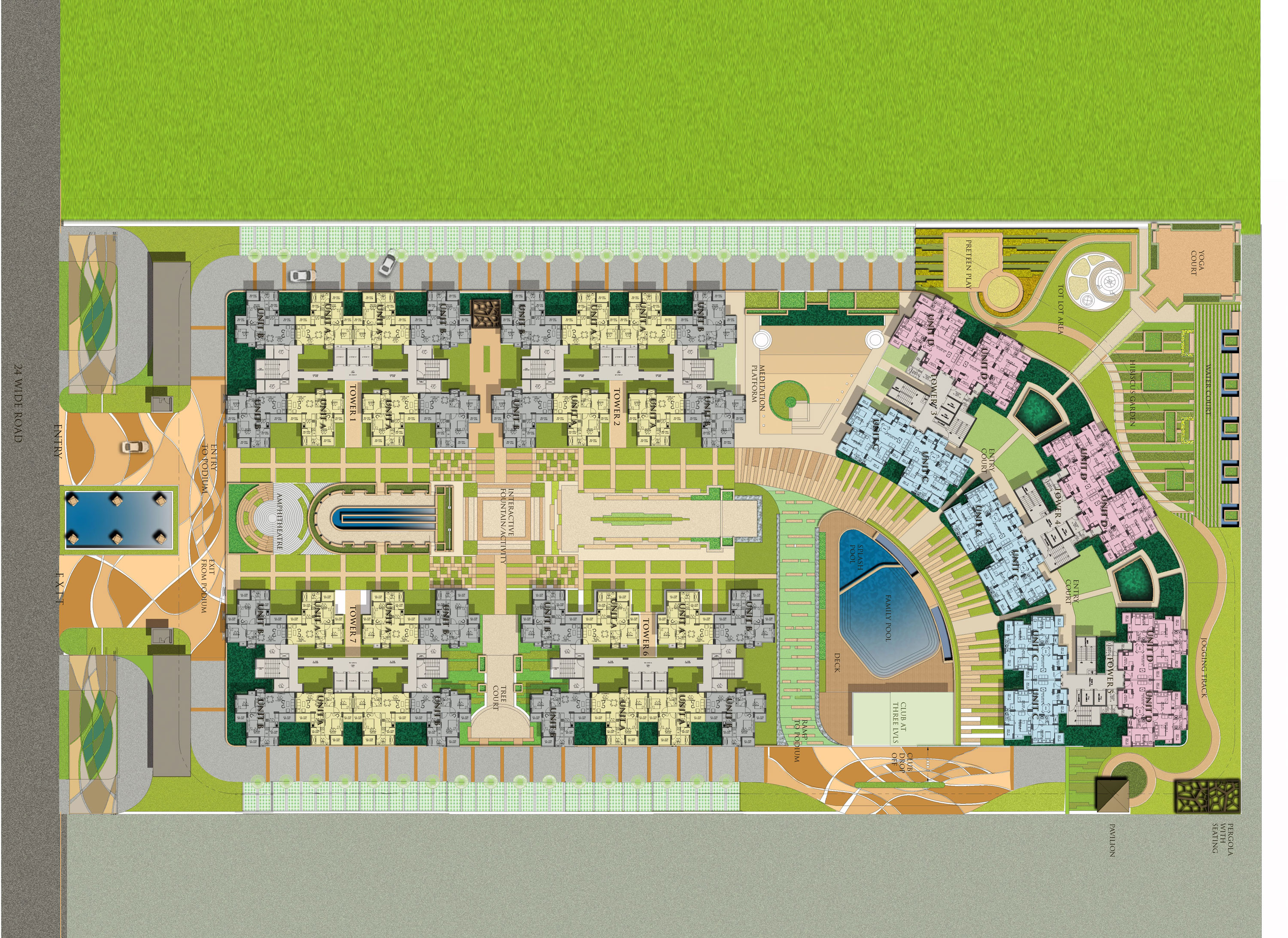amaatra homes site plan