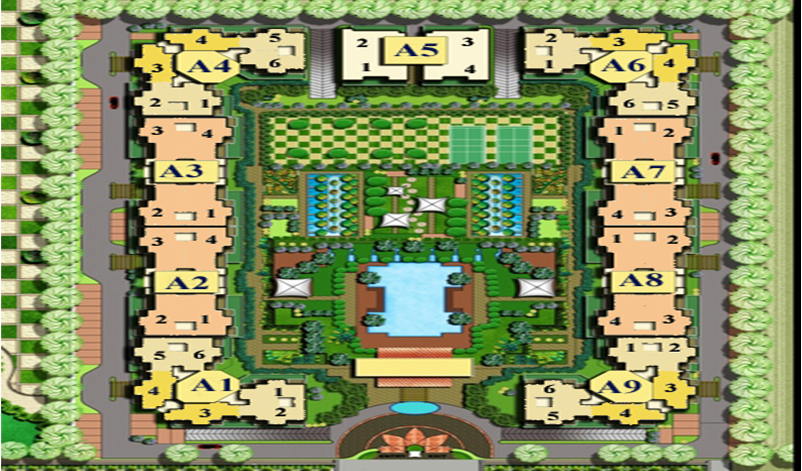 casa green site plan