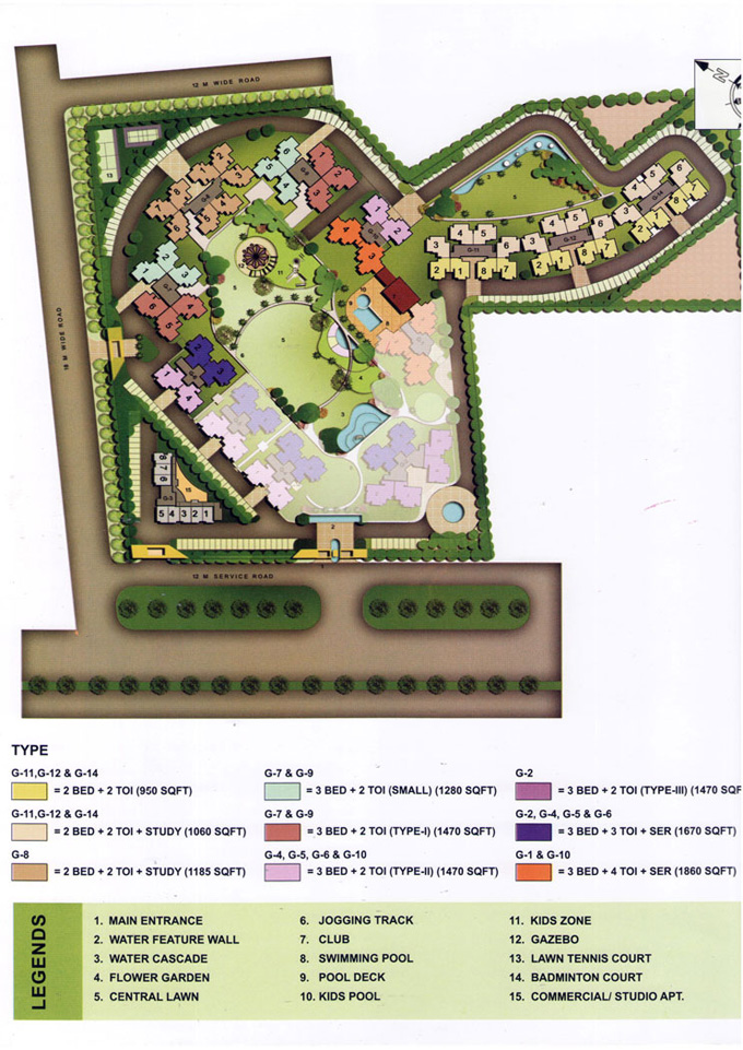 nirala-greenshire-site-plans