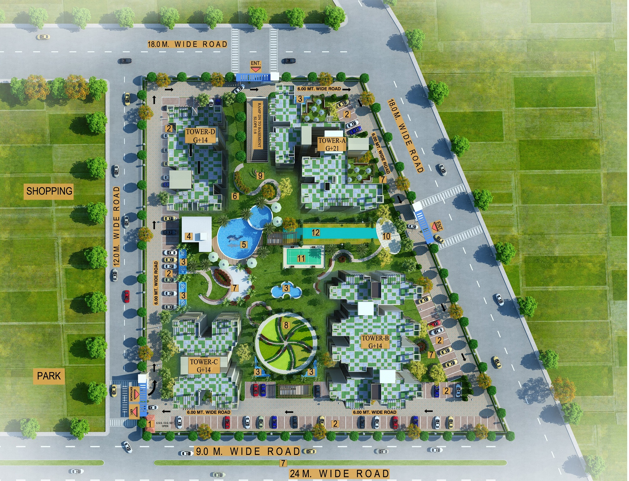 shivalik homes site plan