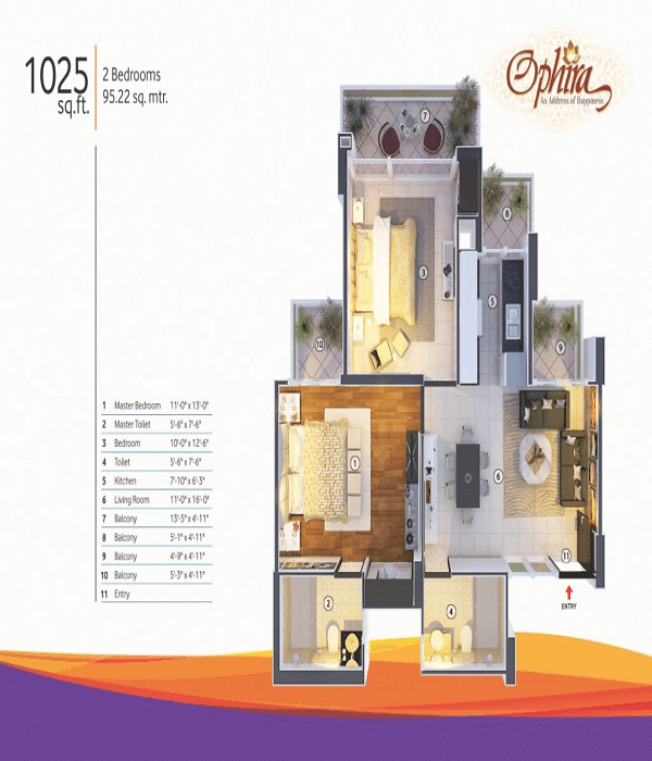 mangalya-ophira-floor-plan-2bhk-2toilet-1025-sq-ft
