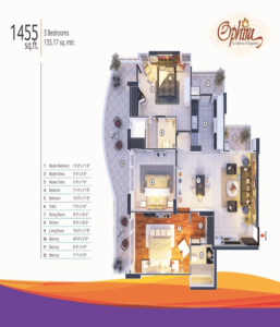 mangalya-ophira-floor-plan-3bhk-2toilet-1455-sq-ft