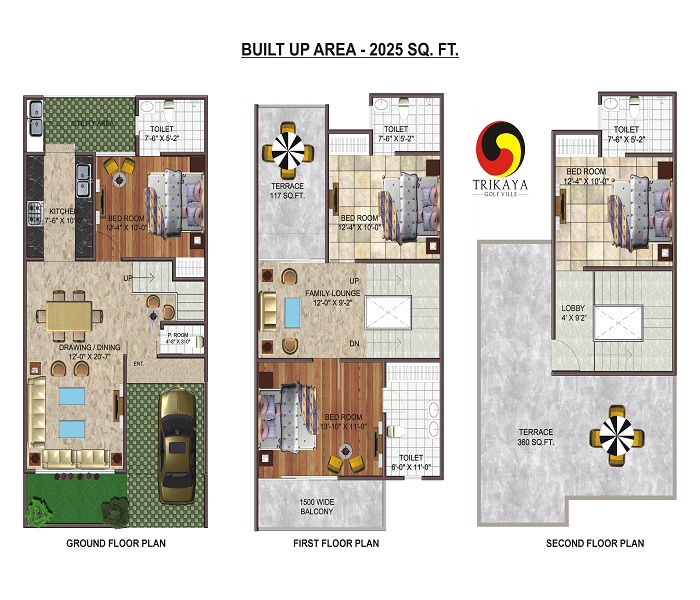 urbania trinity nx floor plan 2025 sq.ft