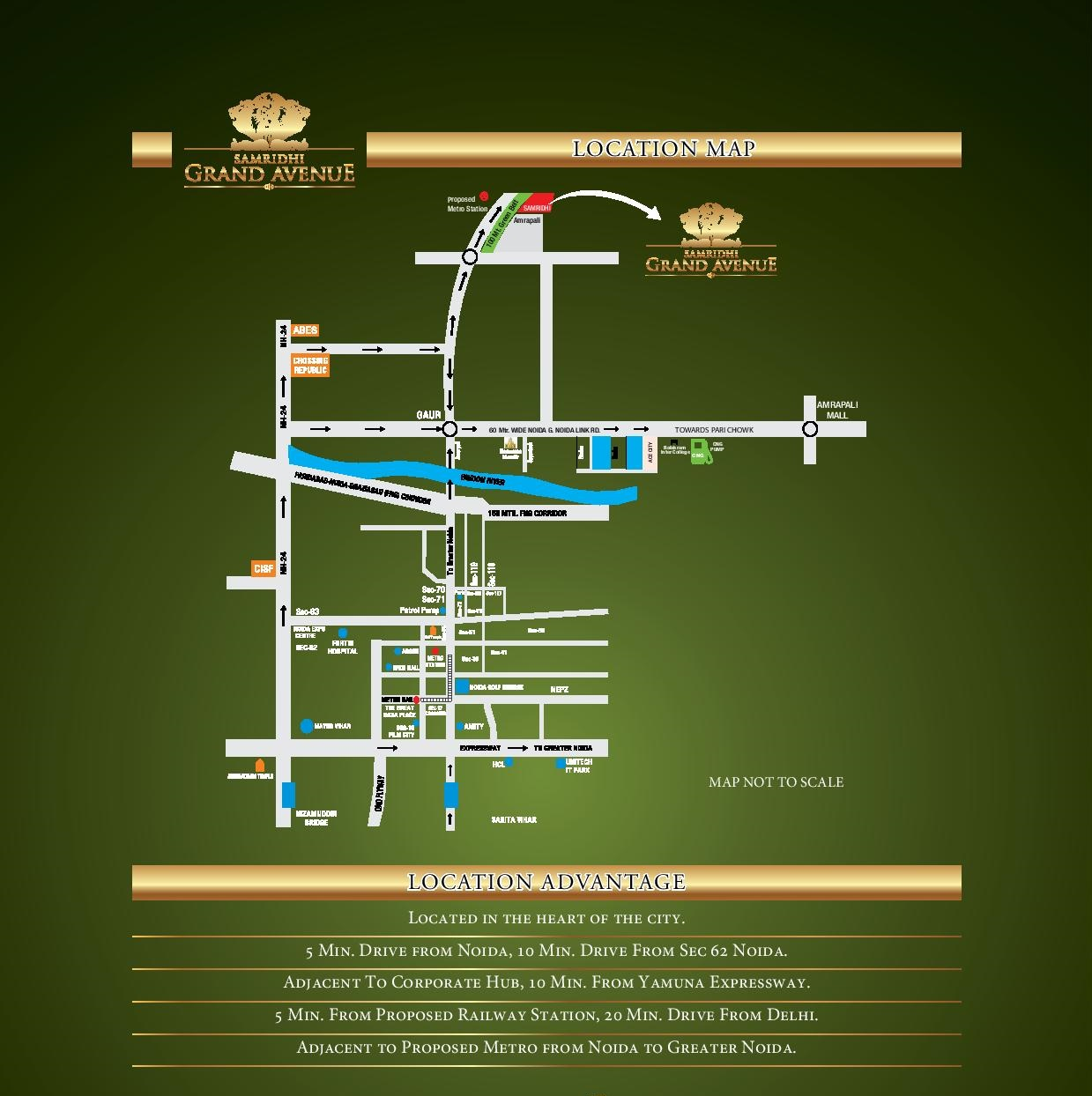 Samridhi grand avenue noida extension