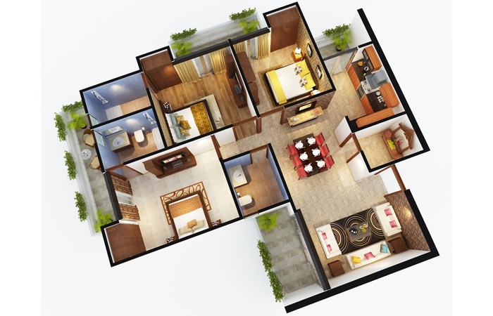 sports home floor plan 3bhk 2toilet 1680 sq.ft