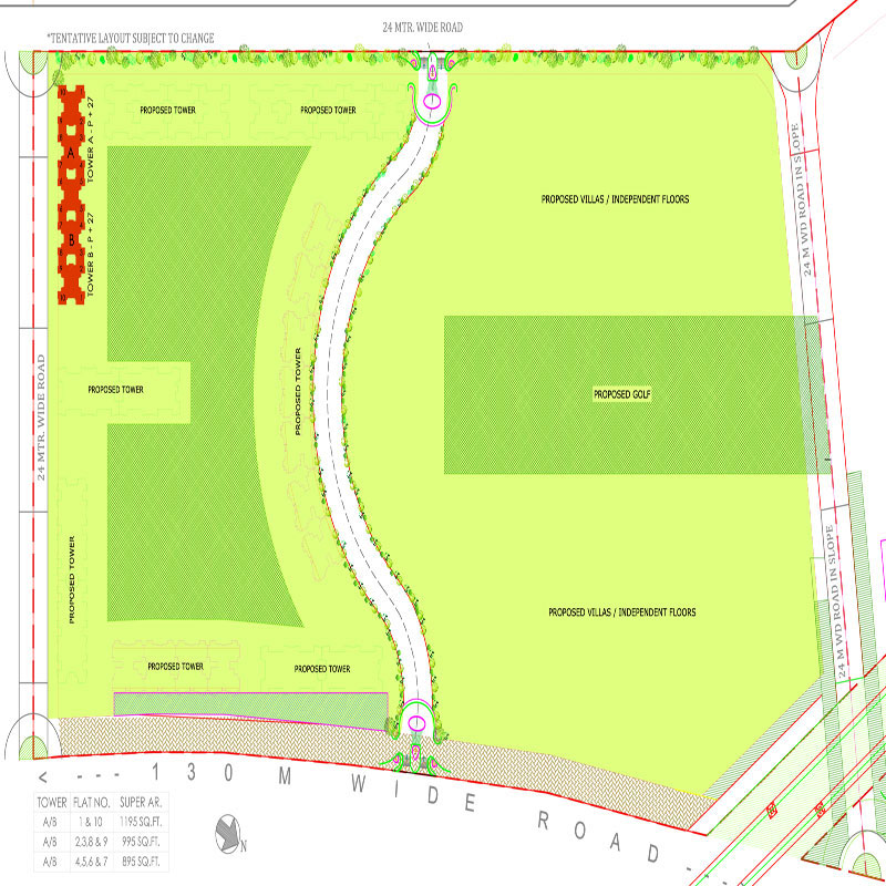 ajnara-sports-city-siteplan