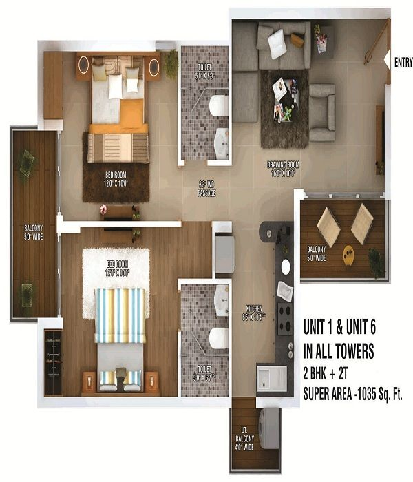 ratan-pearls-floor-plan-2bhk-2toilet-1035-sq-ft