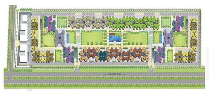 panchsheel green site plan