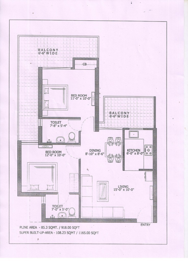 Gaur City 7th avenue floor plan1