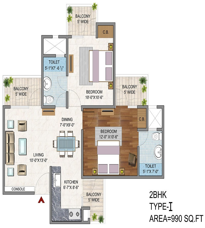 vaibhav heritage height floor plan