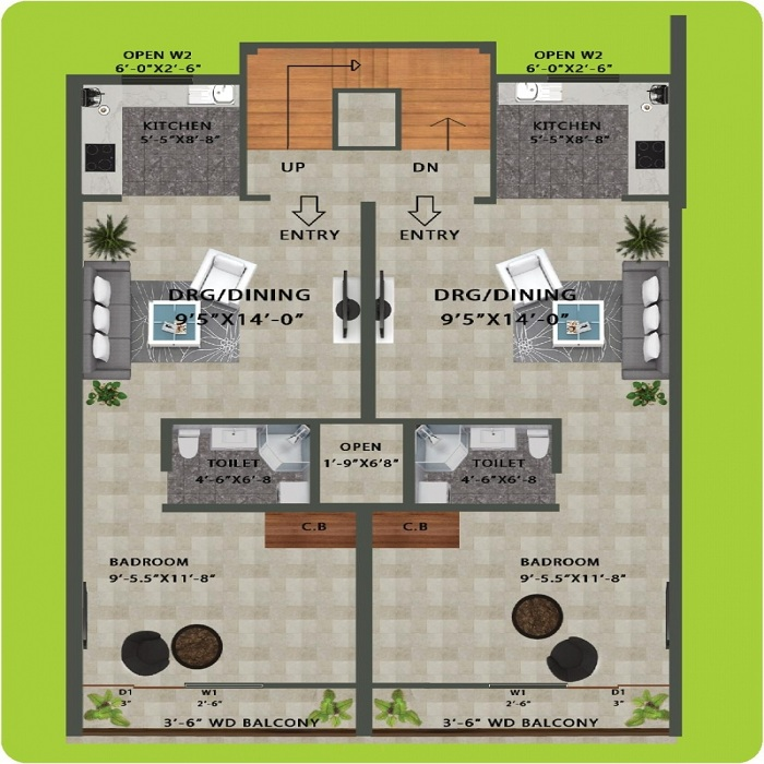 sai upvan floor plan