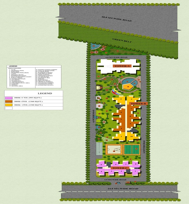 apple orchid site plan