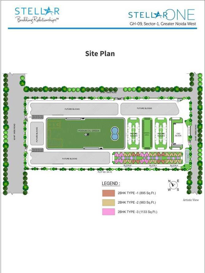 stellar one site plan