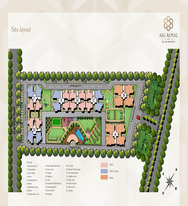 aig royal site plan