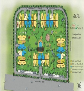 aims green avenue site plan