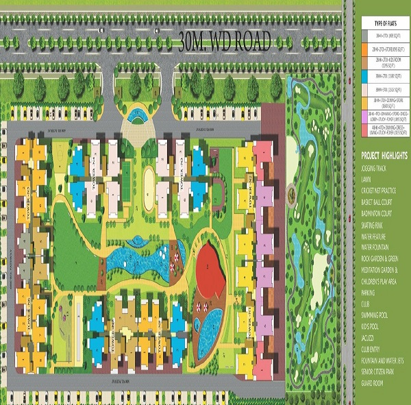royal nests site plan
