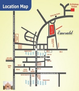 ss emerald location map