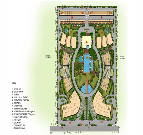 utc code 60 site plan