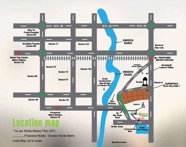 afowo raksha towers location map