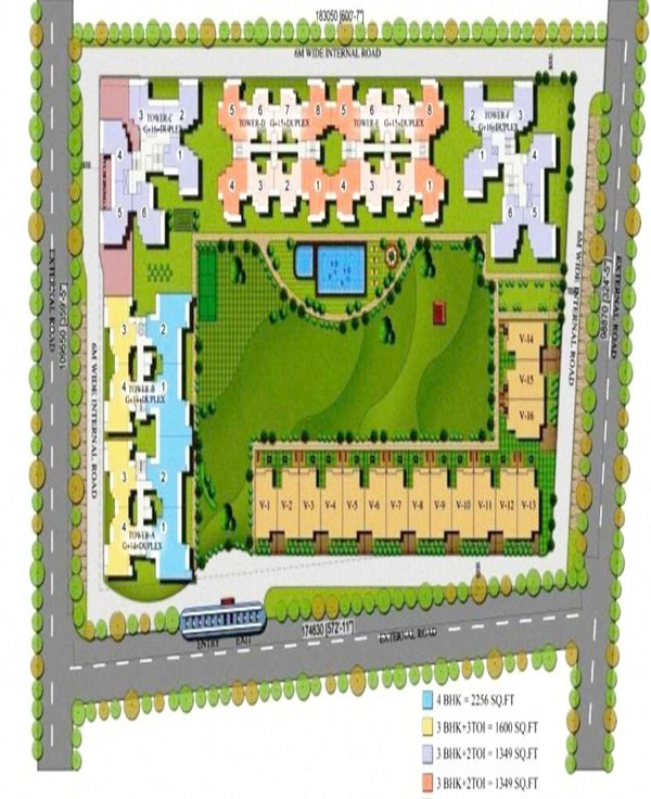 airwil golf green site plan