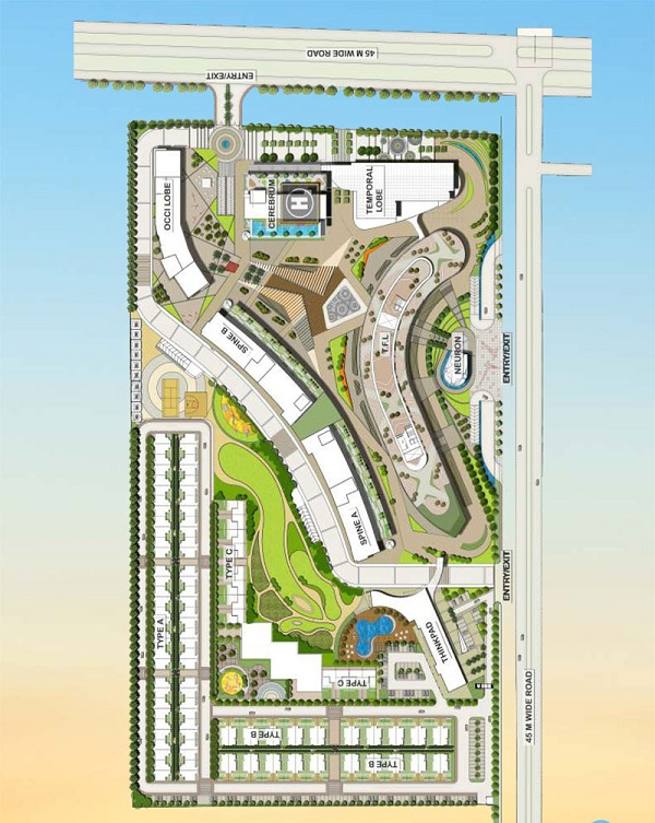 airwil intellicity site plan