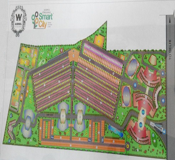 airwil organic smart city site plan