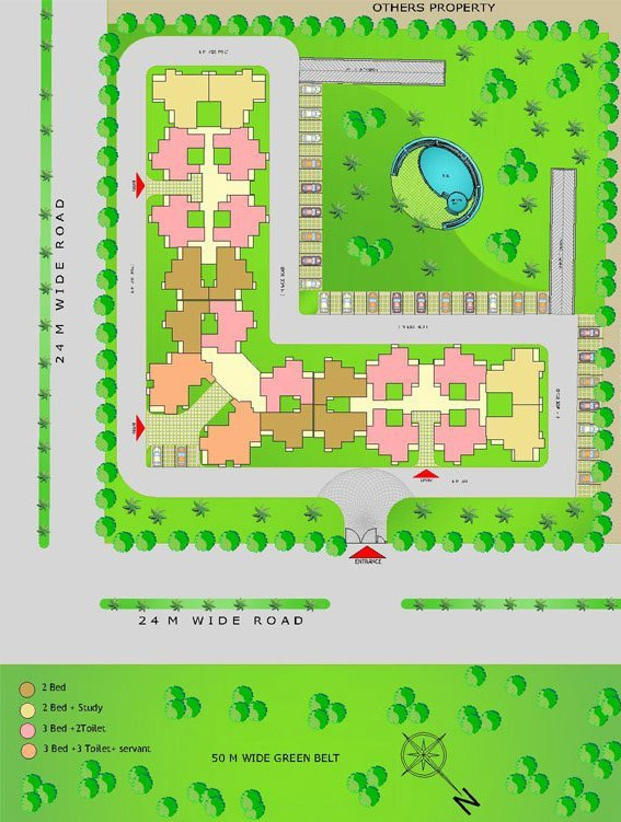 amrapali castle site plan
