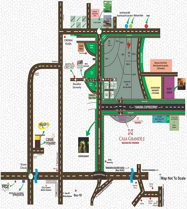 earthcon casa grande location map