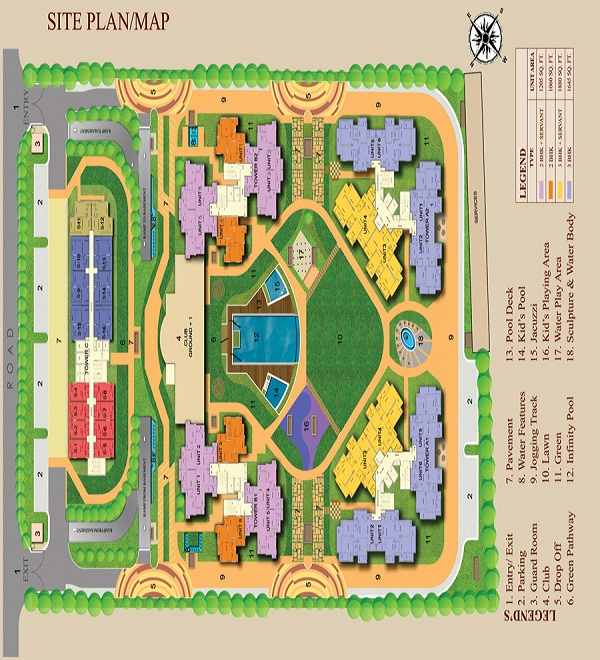 earthcon casa grande site plan