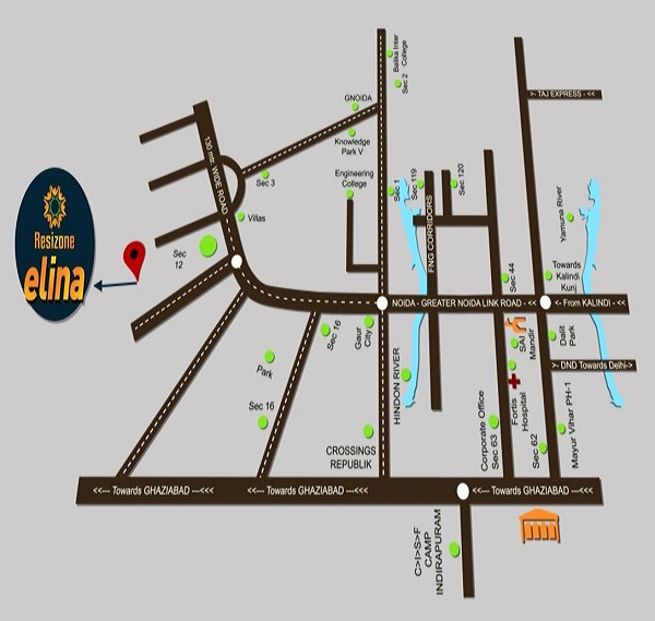 resizone elina location map