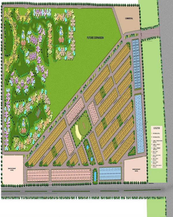 amrapali high life 2 site plan
